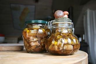 Соленые грибы как хранить