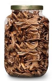 сушеные грибы в банках надо хранить закрытыми